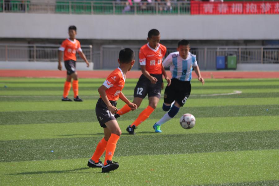 2018榆林市青少年校园足球项目启动