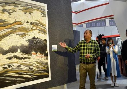 陕西美术博物馆馆藏国画在拉萨展出
