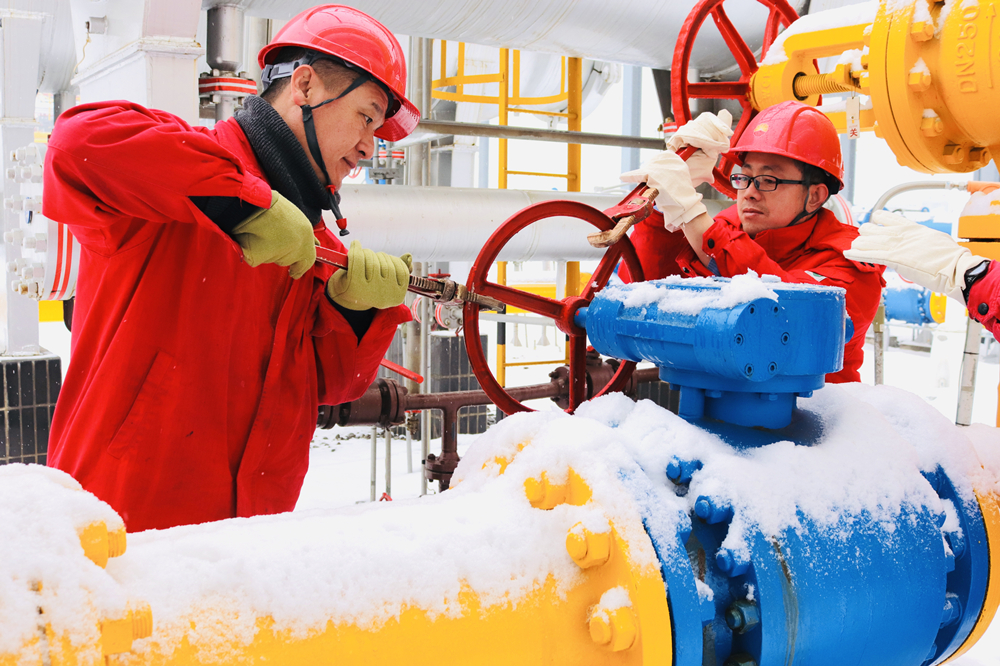 中國石油長慶油田天然氣日産創歷史新高