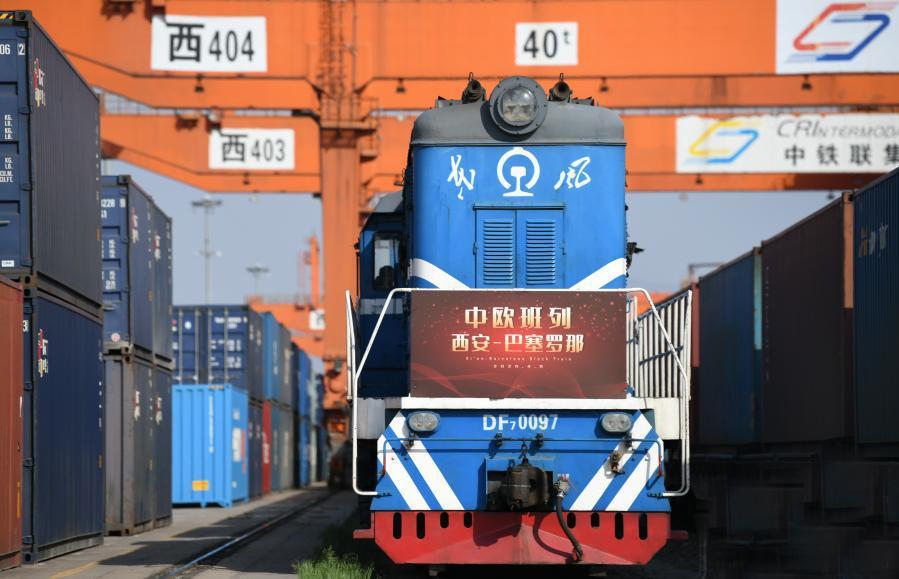 """中歐班列""""長安號""""運力持續增長 去年全年開行3720列"""