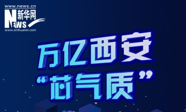 """萬億西安""""芯氣質"""":新地標 芯力量"""