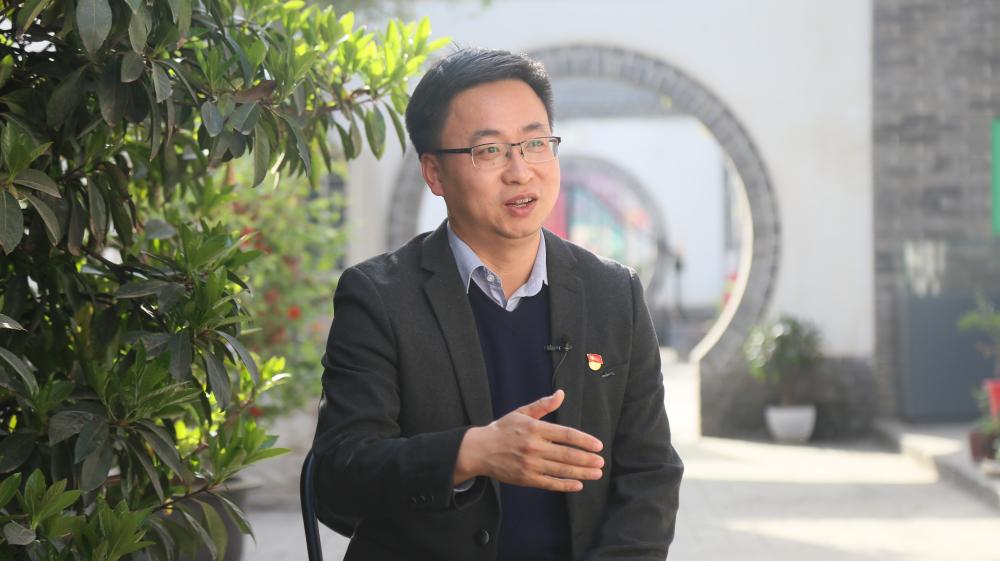 【新華訪談】陳斌:創新形式 把革命資源轉化成紅色文化成果